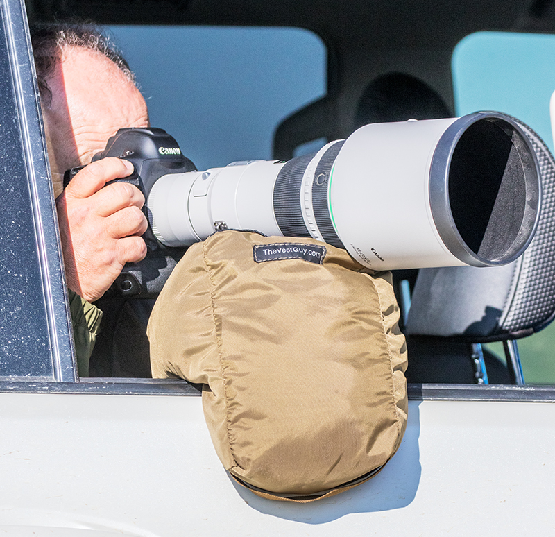 Stable Shooting With Telephoto Lenses– A Bean Bag Is The Key accessories